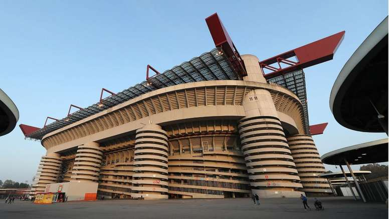 The San Siro is set to be knocked down. GOAL