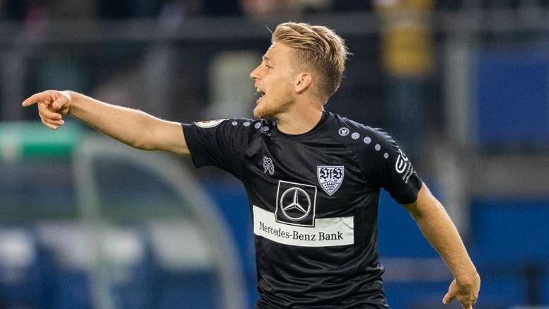 Santiago Ascacibar will play for Hertha Berlin after the winter break. GOAL