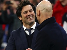 We trust VAR - Solari keeping faith in officials after close call at Ajax