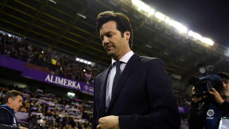 Solari in the dark on Madrid future. Goal