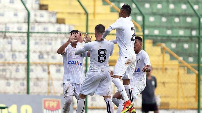 O Santos segue em prova na Copinha. Goal