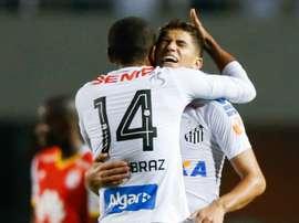 O 'peixe' é agora líder do grupo 2 da Libertadores. Goal