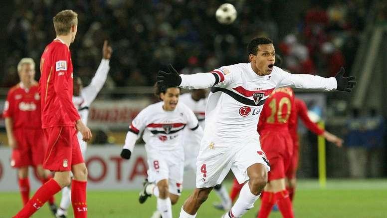 Derrota contra o São Paulo foi a mais dolorida do Liverpool em Mundiais. EFE