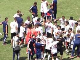 Final sub-17 entre paulistas termina em pancadaria. Goal