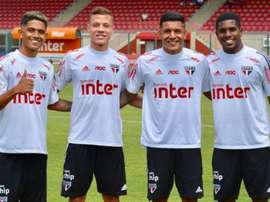 São Paulo deve usar mais jovens da base no time. EFE