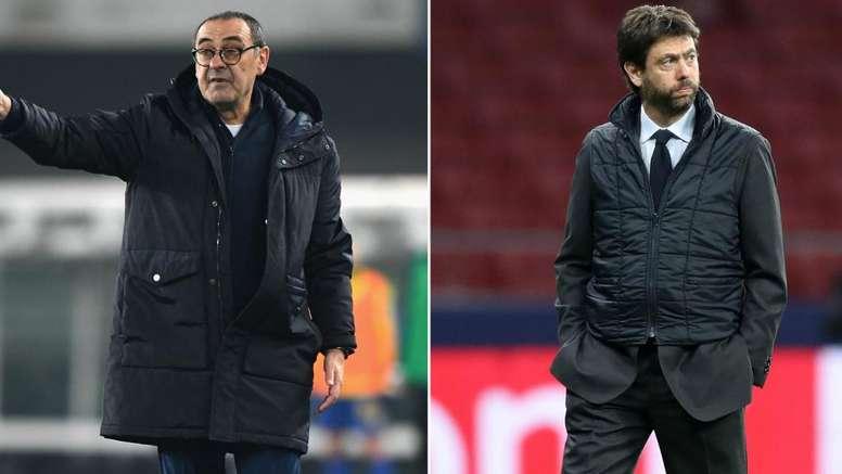 Sarri a cena con Agnelli: sul tavolo i problemi della Juventus. Goal