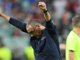 Sarri was announced as Juventus manager on Sunday. GOAL