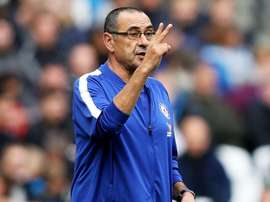 Sarri believes his side have some way to go to match Liverpool. GOAL