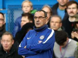 Sarri was concerned by his team's slow start against Everton. GOAL
