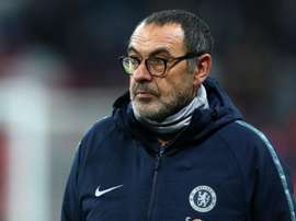 Sarri has reiterated calm over transfer in-comings at Chelsea. GOAL