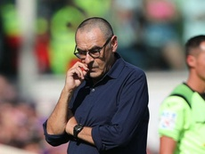 Sarri says the hot conditions were tough in Florence. GOAL