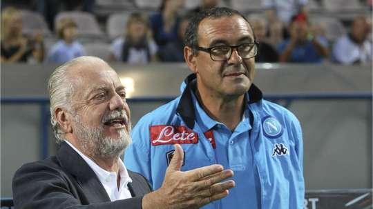 De Laurentiis soutient le coach italien. Goal