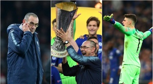 Sarri's season at Chelsea was very eventful to say the least. GOAL