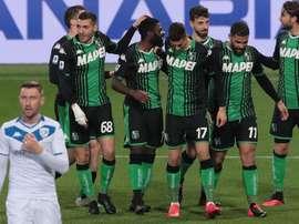 Caputo stende le Rondinelle: il Sassuolo vince 3-0. Goal