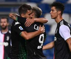 Match nul et surtout fou, la Juve trébuche à Sassuolo. GOAL