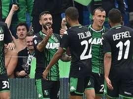 Sassuolo-SPAL 3-0: Caputo e Duncan riportano i neroverdi alla vittoria