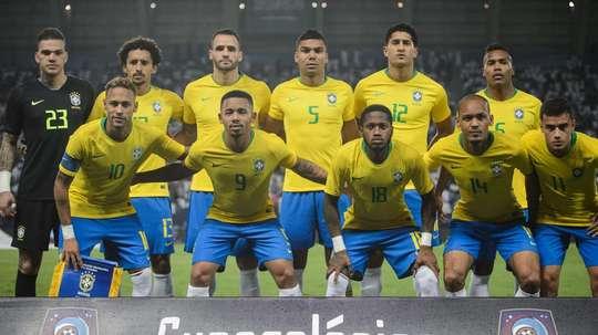 Saudi Arabia Brazil Friendly. Goal