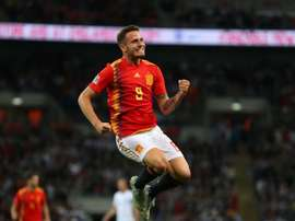 Saul replaces Fabian in Spain squad. Goal