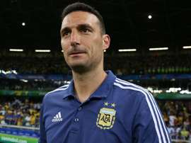 Argentina coach Lionel Scaloni lauded the attitude of his players . GOAL
