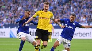 Schalke 04-Borussia Dortmund 0-0, pas de vainqueur dans le derby de la Ruhr. AFP