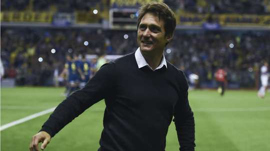 Schelotto's side are in the final. GOAL