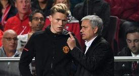 McTominay still speaks to Mourinho.  GOAL