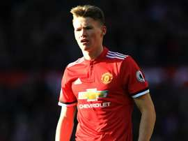McTominay made his debut against Costa Rica. GOAL
