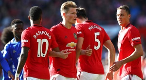 McTominay had a brilliant game for United v Leicester. GOAL