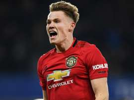 McTominay trains with Man Utd squad ahead of Club Brugge clash. GOAL