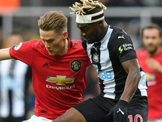 Newcastle-Manchester United 1-0, MU touche le fond à Newcastle. AFP