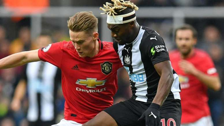 Newcastle-Manchester United 1-0, MU touche le fond à Newcastle. AFP