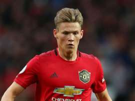 Scott McTominay will miss Manchester United's next games. GOAL