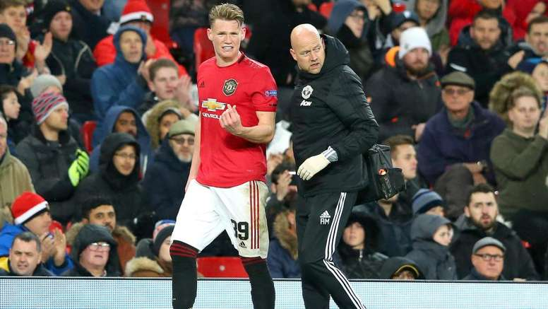 Solskjaer concerned over McTominay