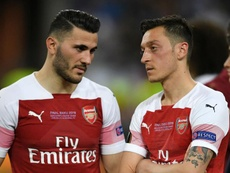 Ozil and Kolasinac out for Arsenal after 'further security incidents'. GOAL