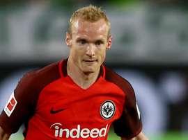 Sebastian Rode's loan spell at Frankfurt has now become permanent. GOAL