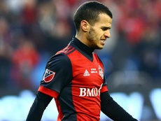 Giovinco was sent to an early bath. GOAL