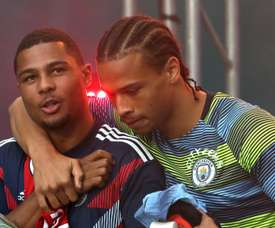 Gnabry wants his Germany teammate Sane to join Bayern. GOAL