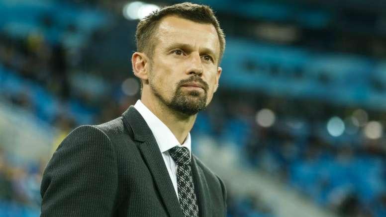 Semak has been unvelied as Zenit's new boss. GOAL