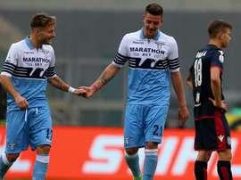 Immobile in dubbio per la partita contro il Bologna. Goal