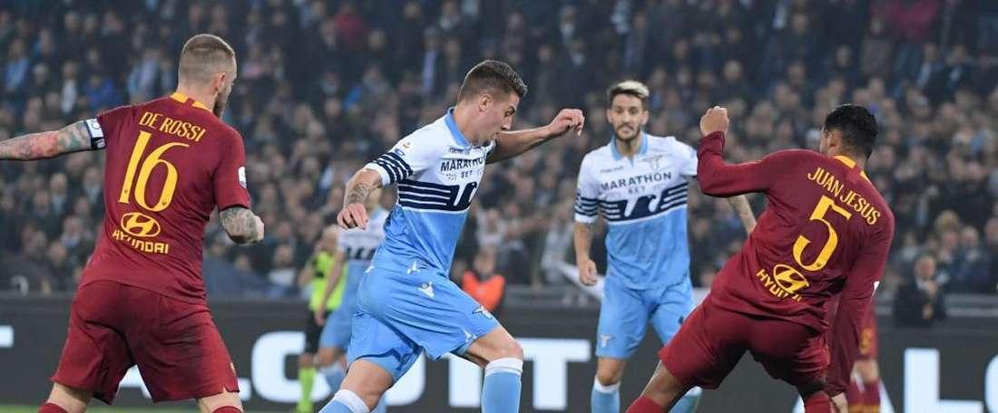 Victoire écrasante de la Lazio. Goal