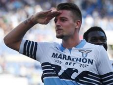 La Juve sur Milinkovic-Savic. Goal