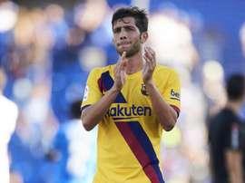 Sergi Roberto ne quittera le Barça que pour rejoindre City. GOAL