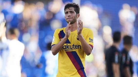 Sergi Roberto infortunato. Goal
