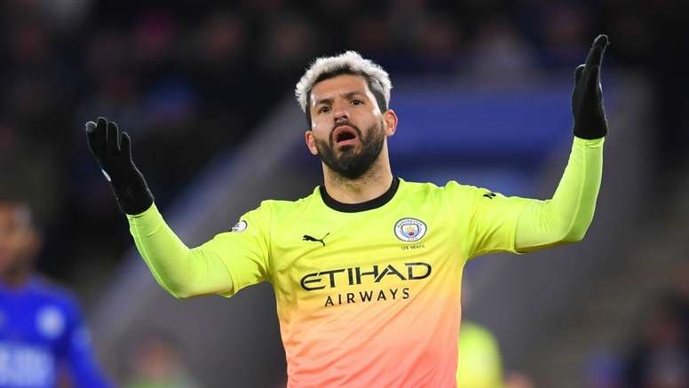 Aguero missed a penalty. GOAL
