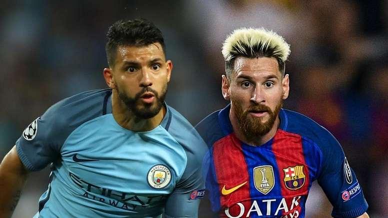 Messi e Agüero: semelhança no futebol está na idolatria. Goal