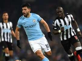 Agüero offre la victoire à City. Goal
