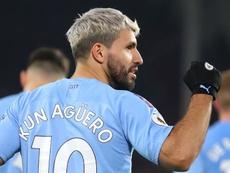 Aguero devrait honorer son contrat avec Manchester City. Goal