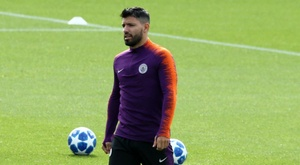 Sergio Aguero is a doubt for the game. GOAL