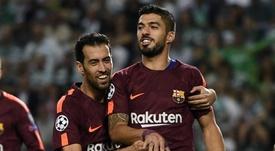 O Barcelona saiu vitorioso do duelo em Alvalade. Goal