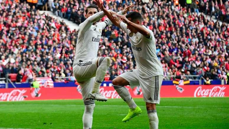Il derby di Madrid è 'galactico'. Goal